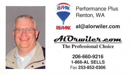 Al-Orwiler - Realtor 206-660-9216
