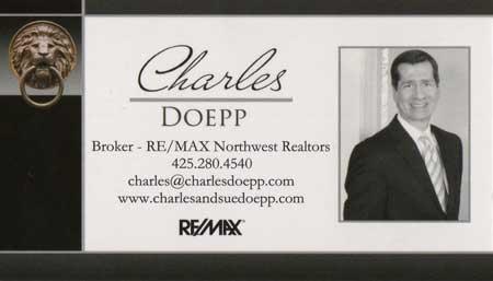 Charles Doepp Realtor 425-280-4540
